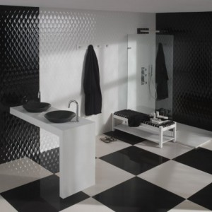 Projects - Bathroom Black - Trend Tap & Tile