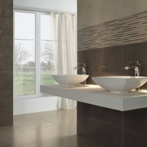 Projects - Double Basin Luxury Bathroom - Trend Tap & Tile