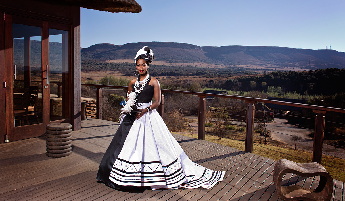 Classic Wedding Gown Designs: Shifting Sands African Couture